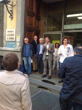 L'ospedale oftalmico di Torino verso la chiusura